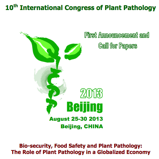 2013 10th International Congress of Plant Pathology